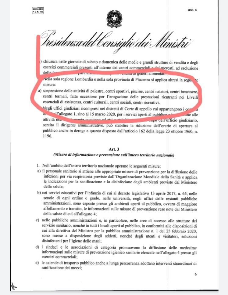 Conte DPCM 1